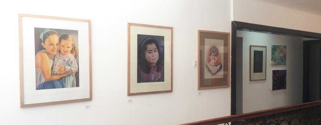 Taller de Pintura expone en Galería Bellas Artes
